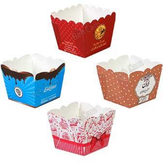 ظرف کاپ کیک کاغذی | بهکام